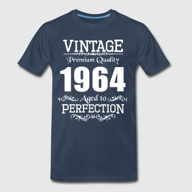 Vintage Premium Quality 1964 Aged To Perfection - Men's Premium T-Shirt