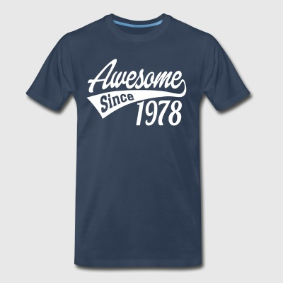Awesome Since 1978 - Men's Premium T-Shirt