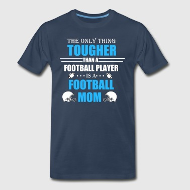 Football mom, American Football Mom - Men's Premium T-Shirt