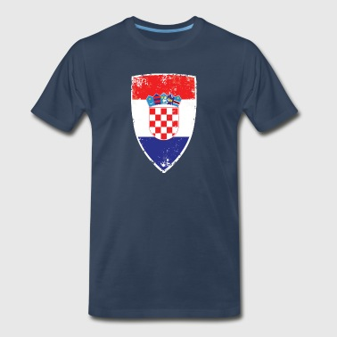 Flag of Croatia - Men's Premium T-Shirt