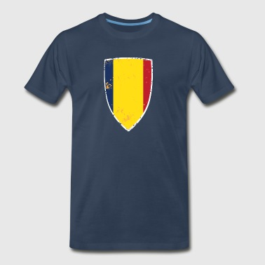 Flag of Romania - Men's Premium T-Shirt