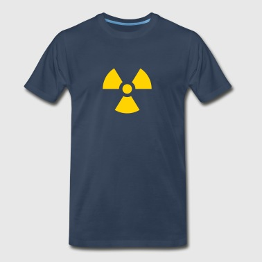 Radioactive Symbol - Men's Premium T-Shirt