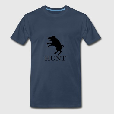 Hunt Boar - Men's Premium T-Shirt