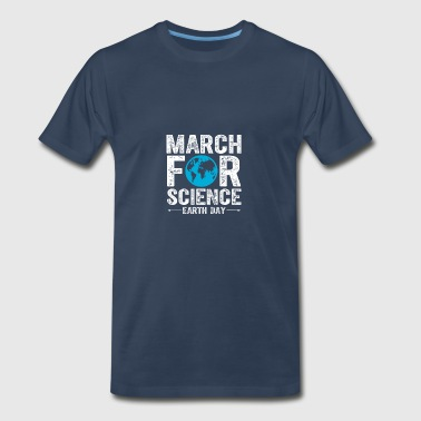 march for science - earth day - Men's Premium T-Shirt