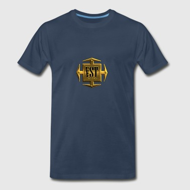 VST Instruments Gold Cross - Men's Premium T-Shirt