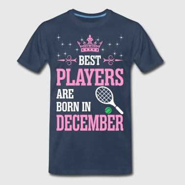 Best Players Are Born In December - Men's Premium T-Shirt