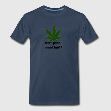 MERE PAAS MAAL HAI GREEN STUFF - Men's Premium T-Shirt