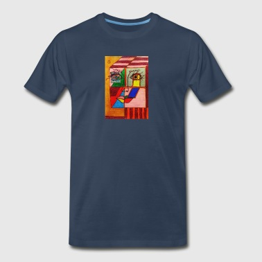 LuckyPen Art - Men's Premium T-Shirt