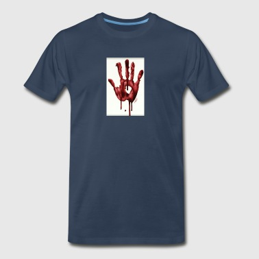 Bloody Hand - Men's Premium T-Shirt