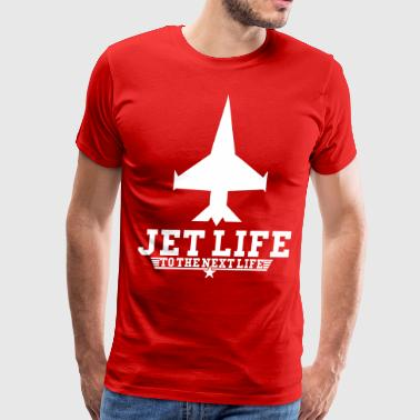 Jet Life To The Next Life - stayflyclothing.com - Men's Premium T-Shirt