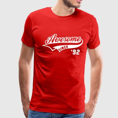 awesome_since_1992__birthday_geburtstag_ - Men's Premium T-Shirt