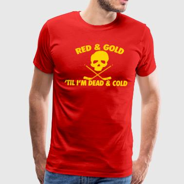 Red & Gold - Men's Premium T-Shirt
