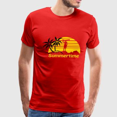 Summertime - Men's Premium T-Shirt