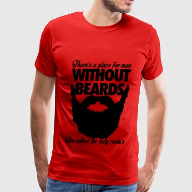 Beards - Men's Premium T-Shirt