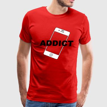 Phone Addict - Men's Premium T-Shirt