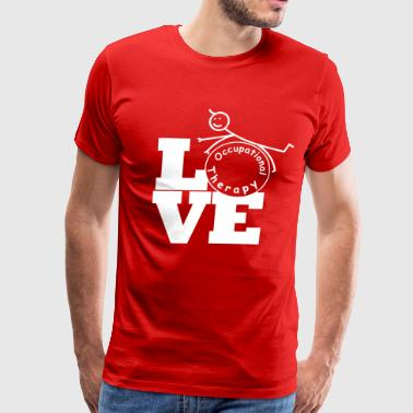 LOVE Occupational Therapy - Men's Premium T-Shirt