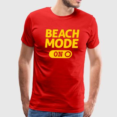 beach mode - Men's Premium T-Shirt