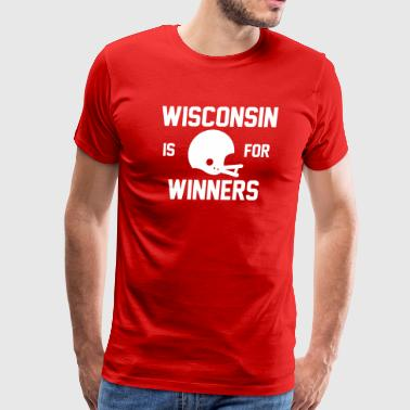 Wisconsin - Men's Premium T-Shirt