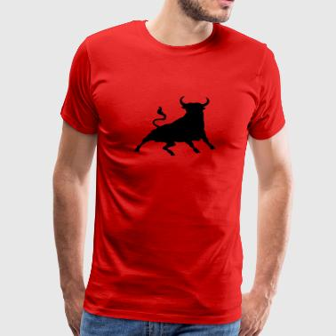 Spanish Bull Toro - Men's Premium T-Shirt