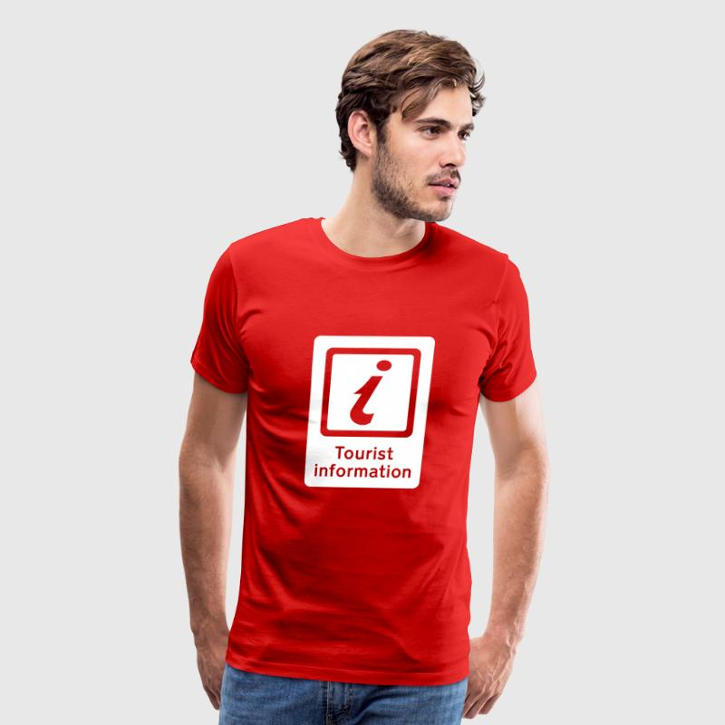 Tourism - Tourist Information - Men's Premium T-Shirt