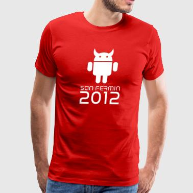 android san fermin 2012 Sanfermines Bullfighting - Men's Premium T-Shirt