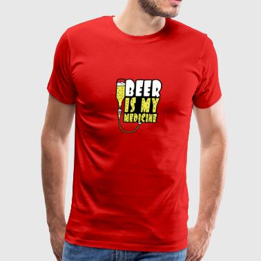 Beer Is My Medicine - Men's Premium T-Shirt
