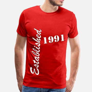 Established 1991 Established 1991 - Men's Premium T-Shirt