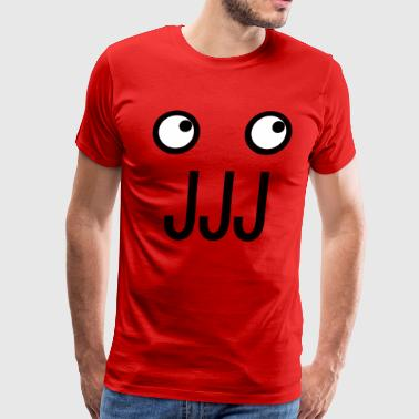 Zoidberg with J and O - Men's Premium T-Shirt