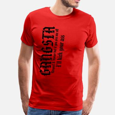 Gangsta Gang Gangsta - Men's Premium T-Shirt