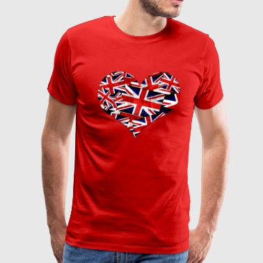 Union Jack British Flag - Men's Premium T-Shirt