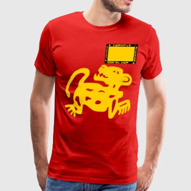Hidden Team Red Jaguars - Men's Premium T-Shirt
