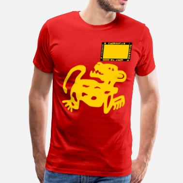 Legends Of The Hidden Temple Team Red Jaguars - Men's Premium T-Shirt