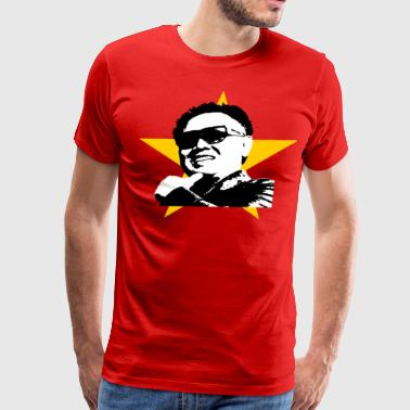 Ching Chang Chong Glorious Kim Jung Il shirt, Men ($5.00 off!)* - Men's Premium T-Shirt