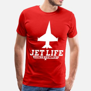 Jet Life Hand Sign Jet Life To The Next Life - stayflyclothing.com - Men's Premium T-Shirt