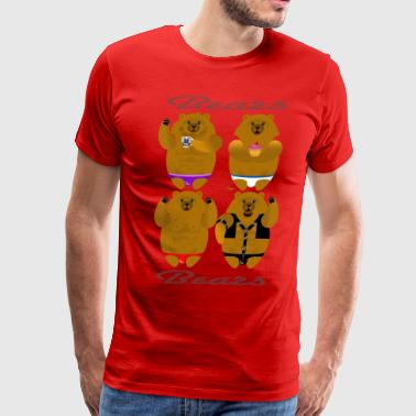 Gay Bears BEARS - Men's Premium T-Shirt