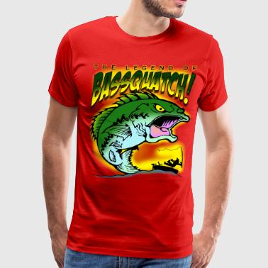 Legend Of BasSquatch - Men's Premium T-Shirt