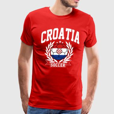 croatia_soccer - Men's Premium T-Shirt