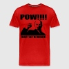 POW RIGHT IN THE KISSER  - Men's Premium T-Shirt