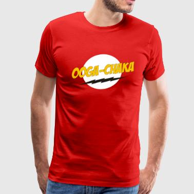 Hooked On A Feeling Ooga-Chaka song - Men's Premium T-Shirt