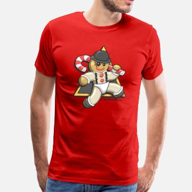 Clockwork Orange Christmas Droogie - Men's Premium T-Shirt