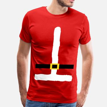 Muscle Santa Santa Suit - Men's Premium T-Shirt