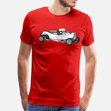 Hot Designs Hot Rod HD Design - Men's Premium T-Shirt