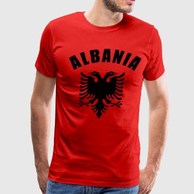 Albanian albania coat of arms - Men's Premium T-Shirt