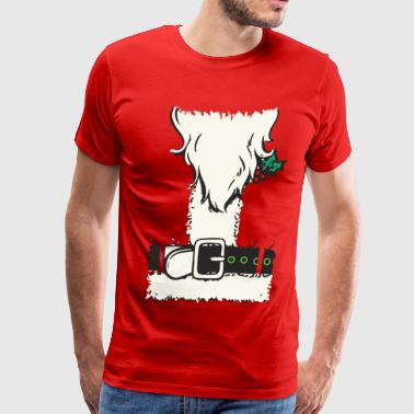 santa suit - Men's Premium T-Shirt
