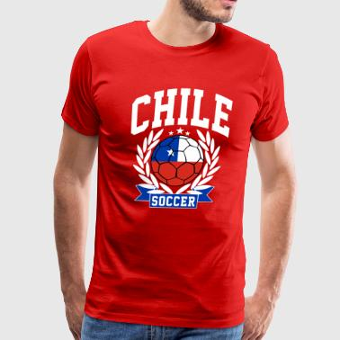 Chile Supporter chile_soccer - Men's Premium T-Shirt