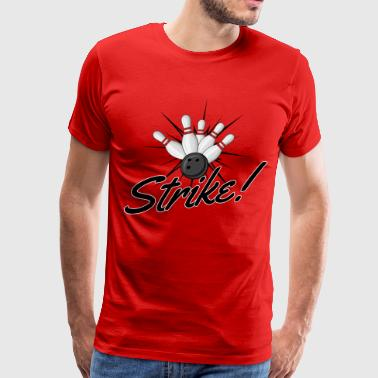 Bowling Strike - Men's Premium T-Shirt