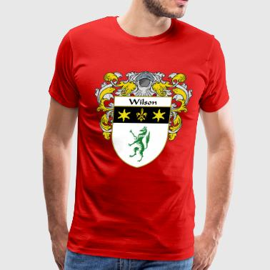 wilson_coat_of_arms_mantled - Men's Premium T-Shirt