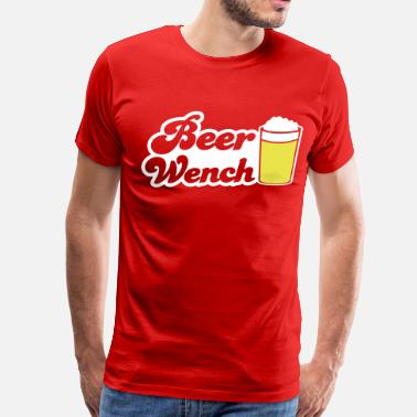 Beer Wench BEER WENCH beers server - Men's Premium T-Shirt