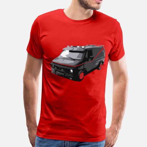 Mens Premium T ShirtA Team Van