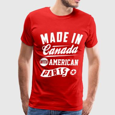 Canadian American - Men's Premium T-Shirt
